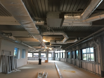 Holland and Barrat AC installation